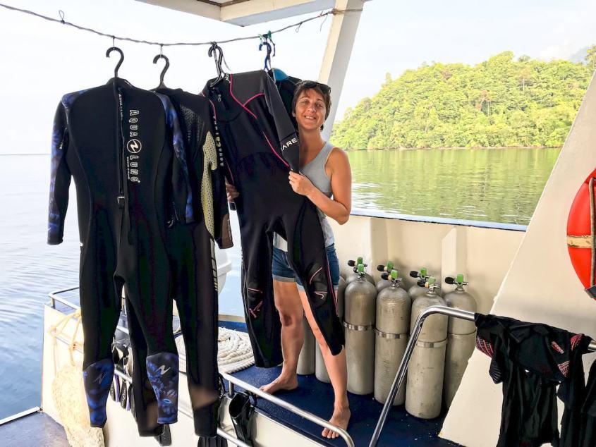 Comment s'équiper facilement sur un bateau de plongée en 5 points