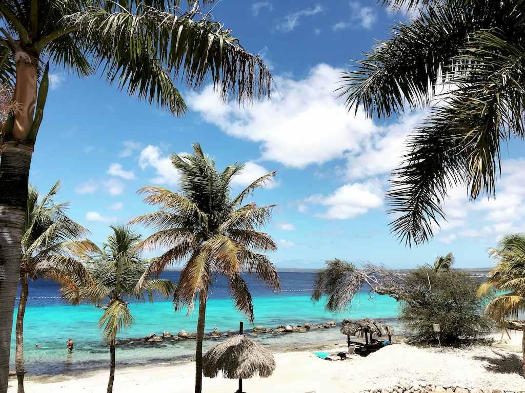 Une merveilleuse plage à Bonaire.
