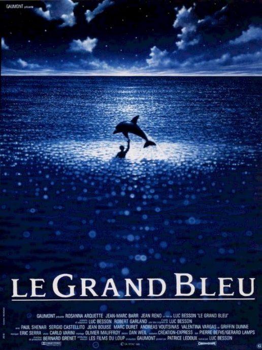 L'affiche du film Le Grand Bleu.