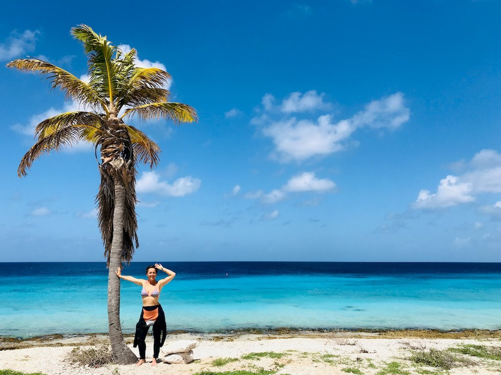 Plonger à Bonaire dans un décor de carte postale comme Hélène s'apprête à faire