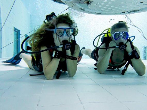 Les plus beaux récits de plongée commencent d'abord par des expériences