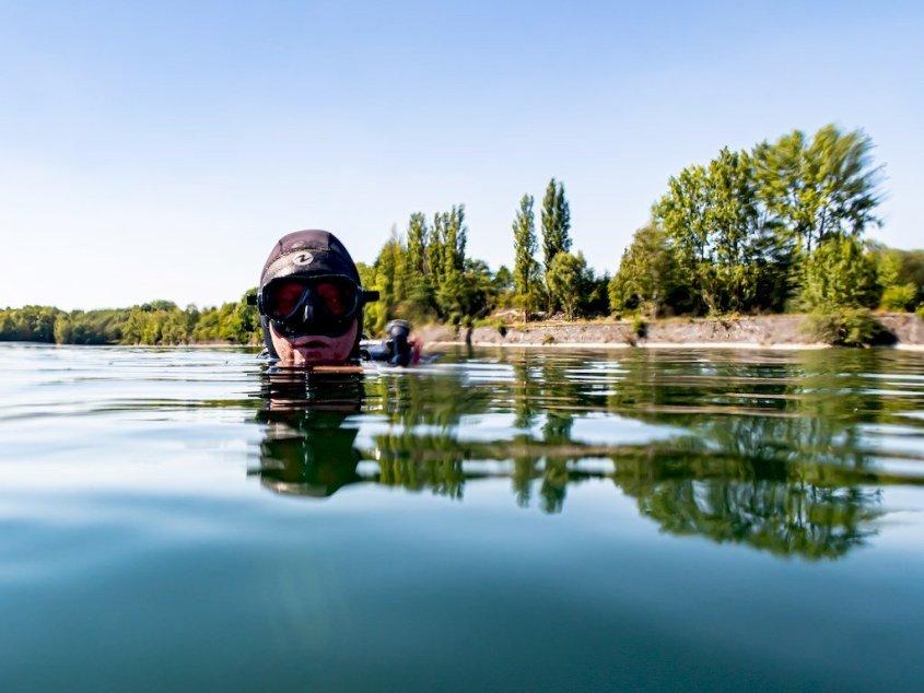 Carrière de Scoufflény : Enfin réouverte a la plongée