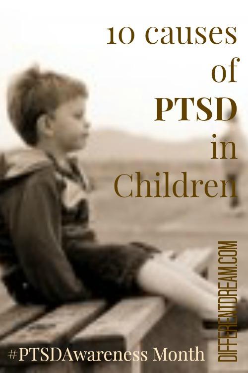 causes of PTSD in children PIN