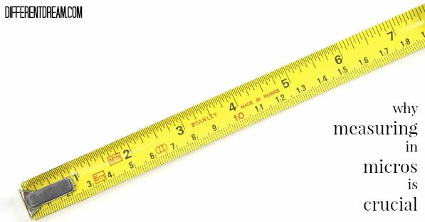 Measuring Milestones in Micros