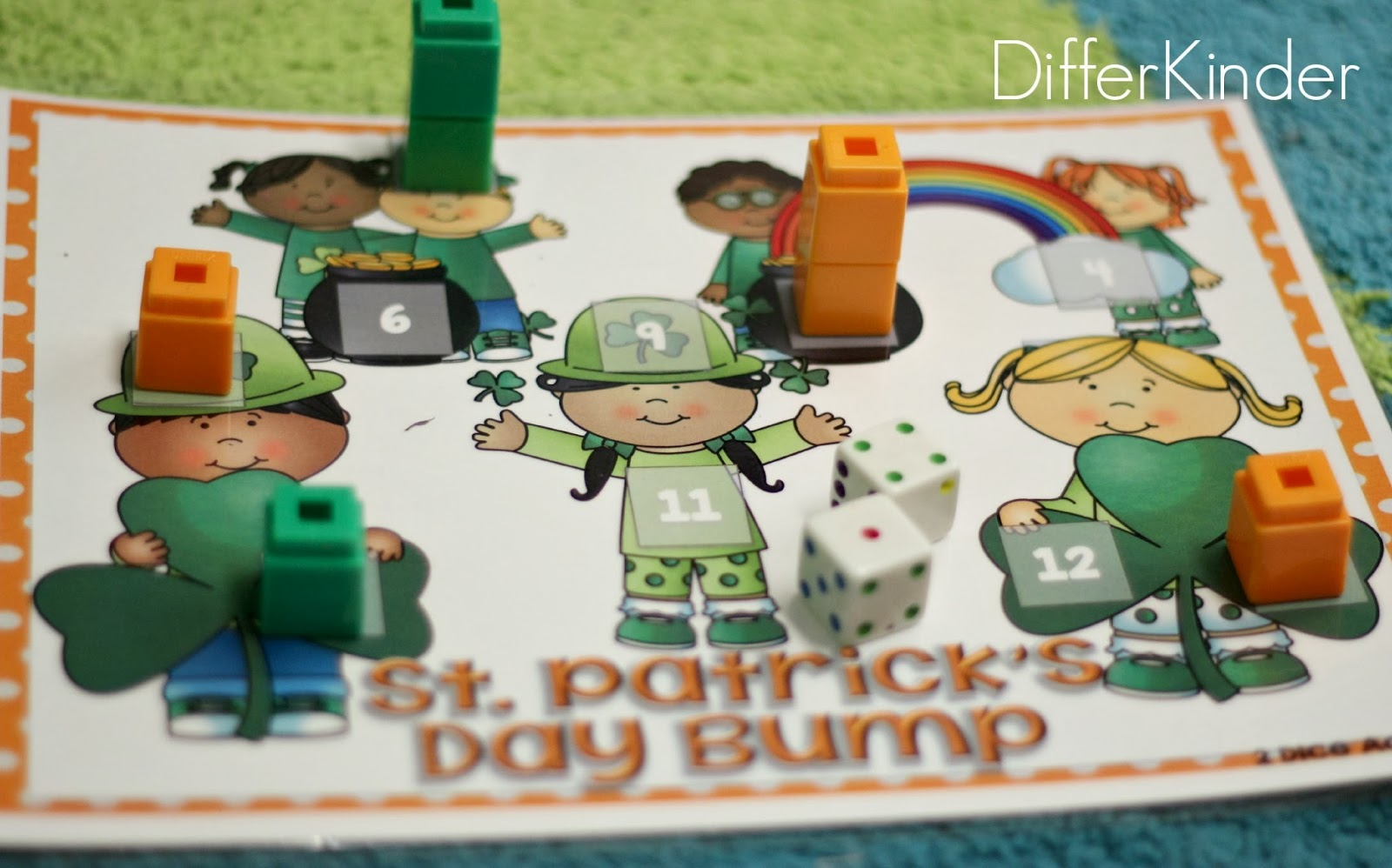 St Patrick S Day Math Stations Differentiated Plans And A