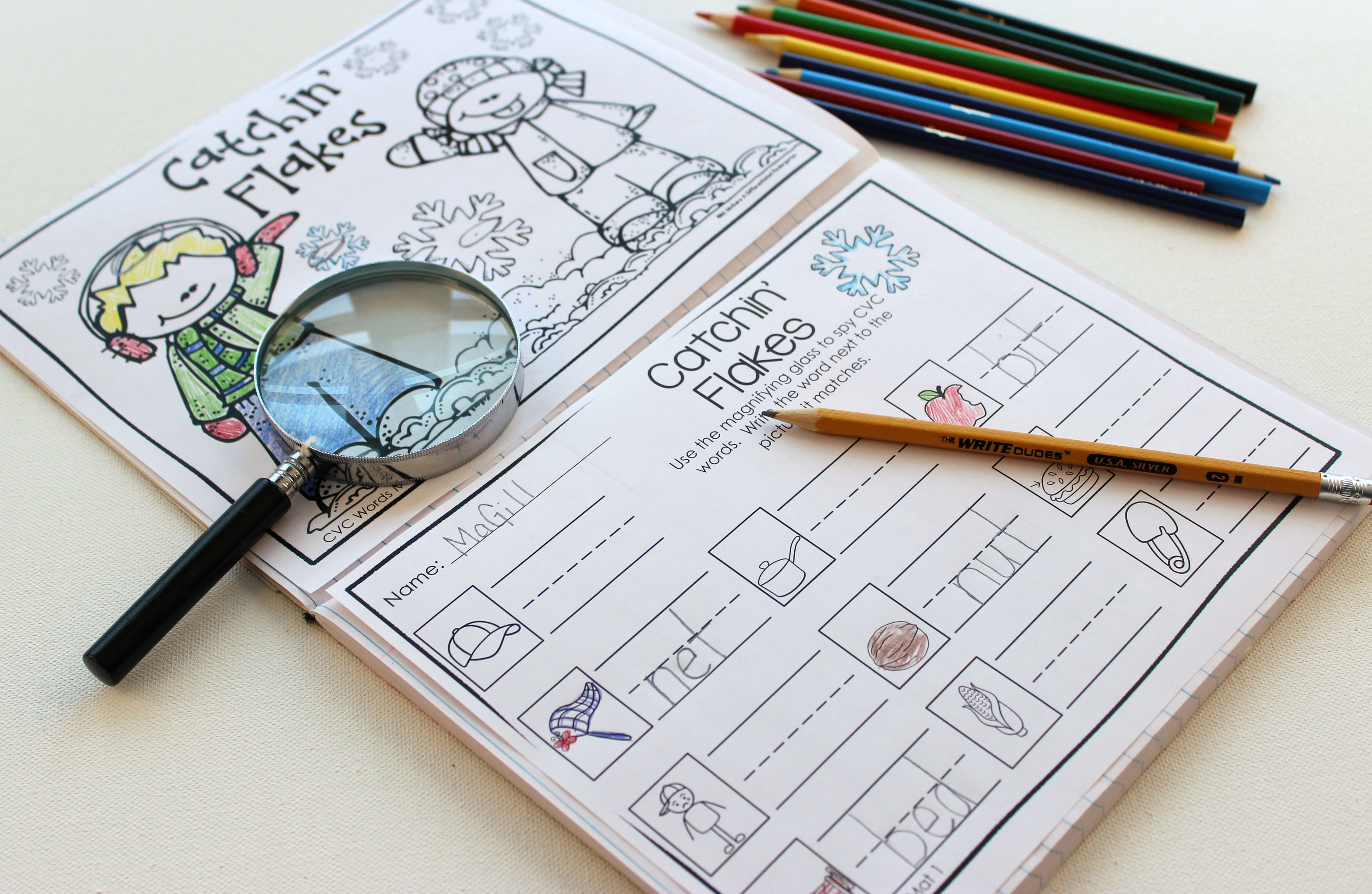 A New Way To Use No Fuss No Muss I Spy Printables