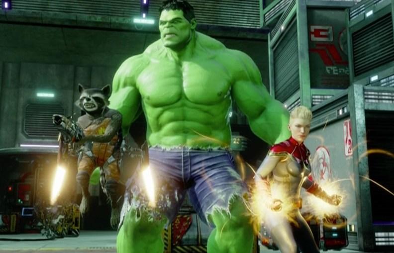 Marvel virtual reality game