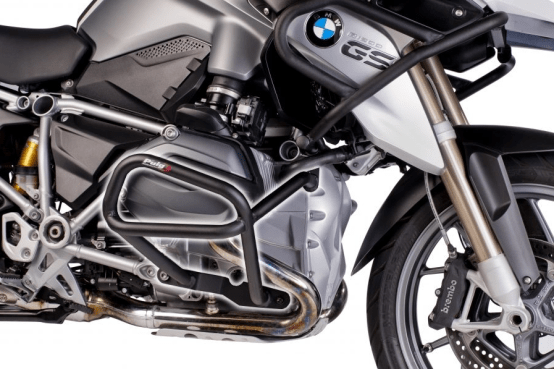 BMW R1200GS LC (2013) Defensas Inferiores + Superiores Puig Color Negro Ref 6538N + 6814N