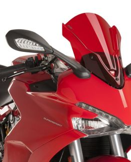 CÚPULA TOURING PARA DUCATI SUPERSPORT 939 (2017). Color ROJO. Ref 9434R