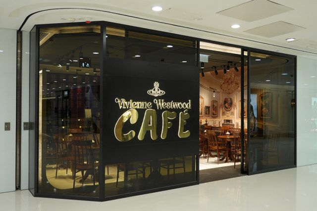 The Vivienne Westwood Cafe in Hong Kong