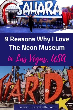 The Neon Museum is a piece of Vegas history which should be in your list of things to do in Las Vegas. Here's why I love it. #neonmuseum #lasvegas #lasvegasthingstodo