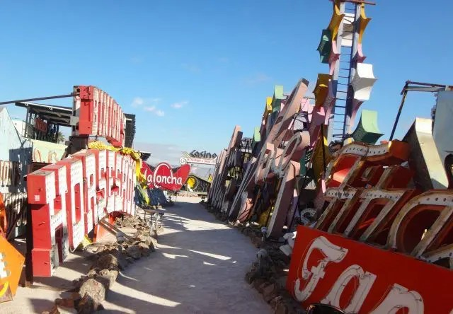 So many signs. Here are nine things I love about the Neon Museum in Las Vegas.