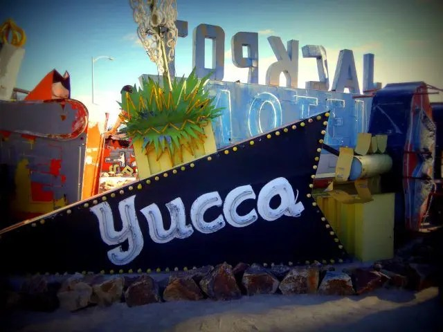Old signs are everywhere at the Neon Museum Las Vegas