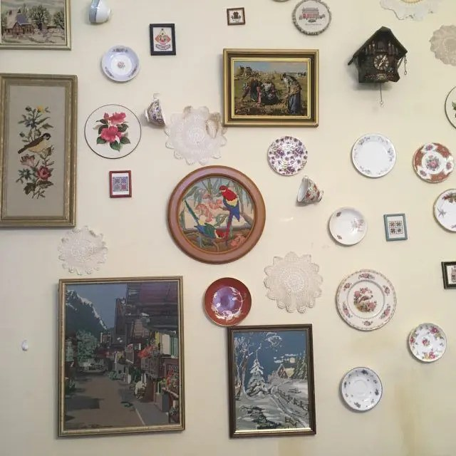 Nana's Nook is where you find the resident ghost at The Tea Cosy Cafe in Sydney's The Rocks