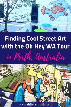 Planning a trip to Perth, Australia? Then you definitely want to add the Oh Hey WA tour to your list of things to do in Perth. It'll show you the best secret spots and best street art in Perth. #perth #thingstodoinperth #toursinperth