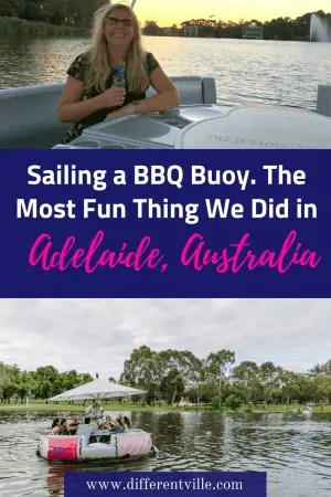 If you're travelling to Adelaide, and are looking for something completely original to do - we have the answer. Sailing a BBQ Buoy, pack your lunch, grab some wine and float up and down the River Torrens at your leisure. Here's the details. #adelaide #thingstododinadelaide #summerinadelaide