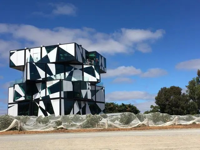 The D'Arenberg Cube in Mclaren Vale South Australia is like a Willy Wonka land of wine. Here;'s what's inside