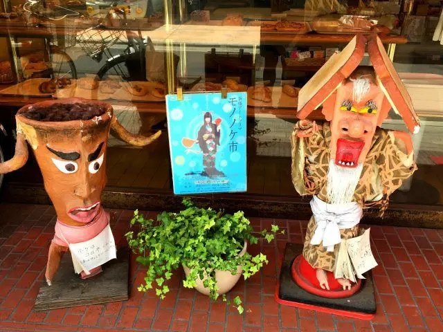 Yokai Street in Kyoto is lined with monsters outside the tradtional shops on the road. Here's why