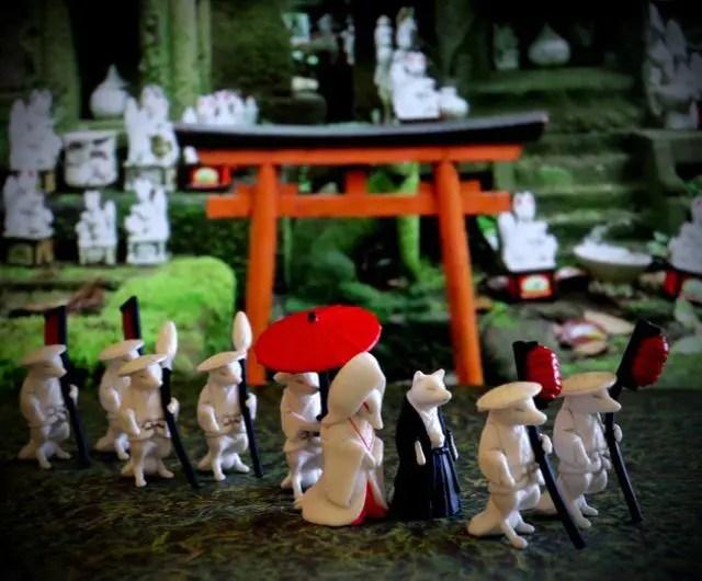 The Gachapon Fox Wedding collection