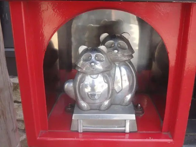 Tanuki Dori in Asakusa is an entire road devoted to the lucky tanuki. Here's where to find it