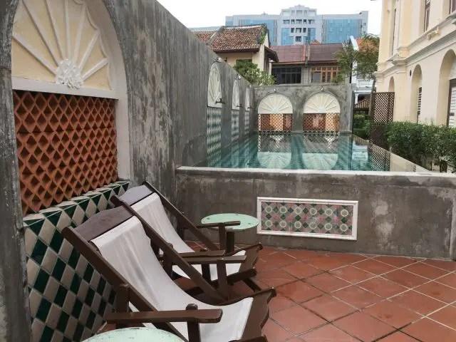 Pool at the Jawi Peranakan Mansion