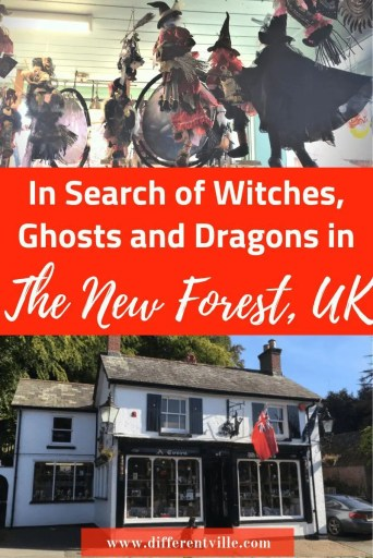 witches and withcraft shops in Burley, New Forest, UK