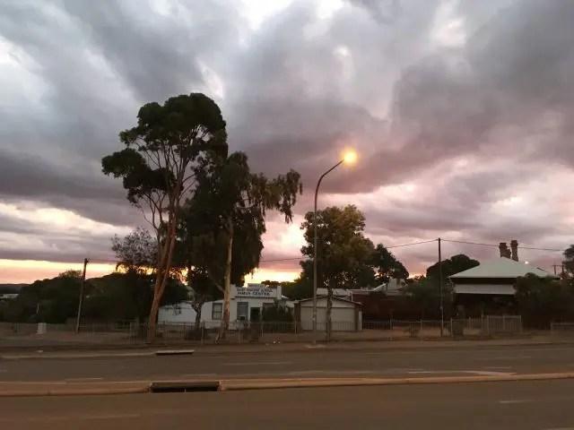 Sunset in Port Augusta