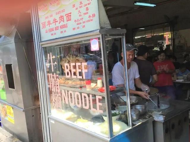 Soup stall in Kuala Lumpur
