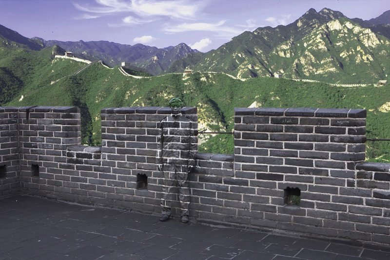 2013 02 25 Liu  Bolin Great Wall
