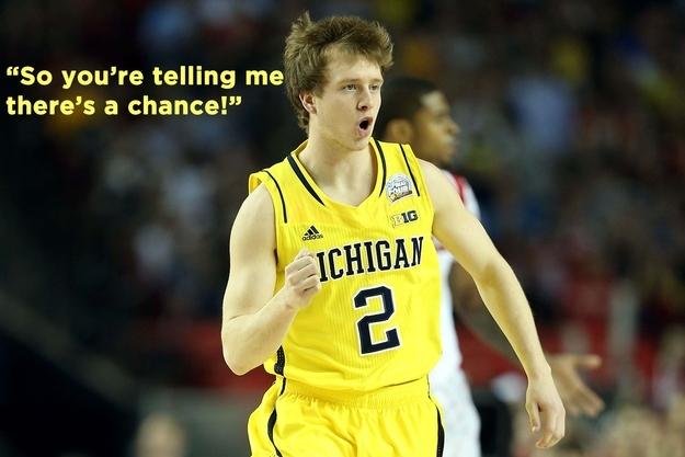 2013-04-15 Spike Albrecht Has A Chance