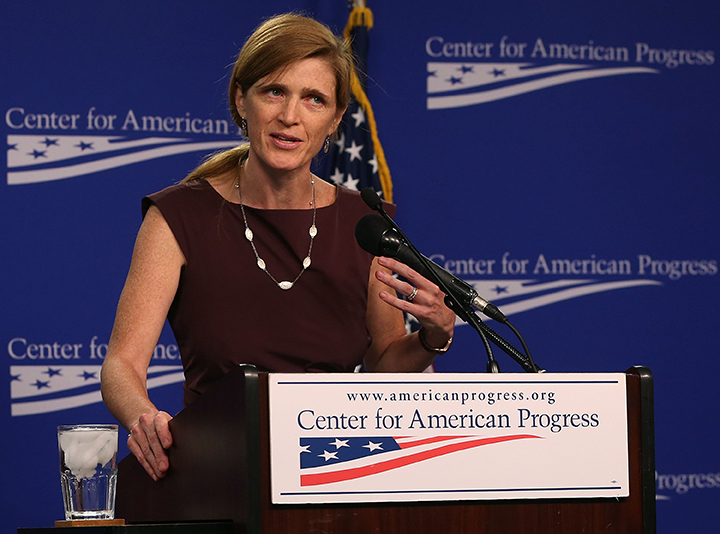 Samantha Power Discusses Use Of Chemical Weapons In Syria