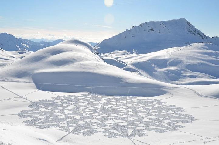 2013-12-20 Snow Patterns