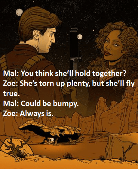Zoe and Serenity