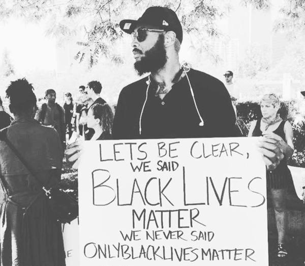 let's be clear BLM