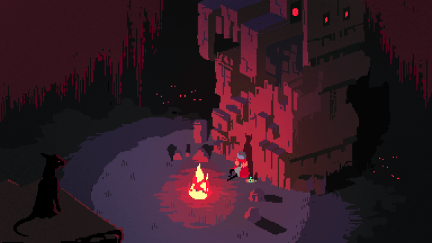 Hyper Light Drifter an Action Role Playing Game developed by Heart Machine