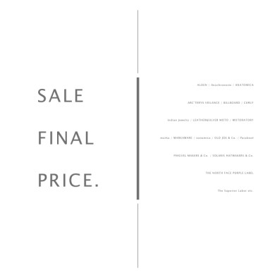 information. | SALE FINAL PRICE.