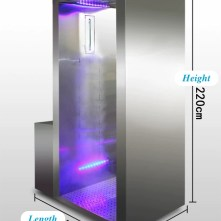 Disinfection Spray Entrance Door