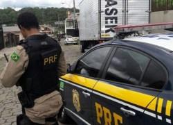 PRF recupera caminhão minutos após ser furtado em Caxias do Sul