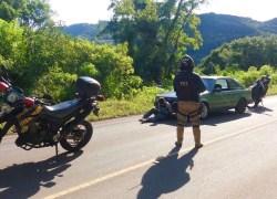 PRF prende jovem após tentativa de fuga de fiscalização em Caxias do Sul