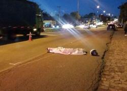 Motociclista morre em acidente na BR-116 em Caxias