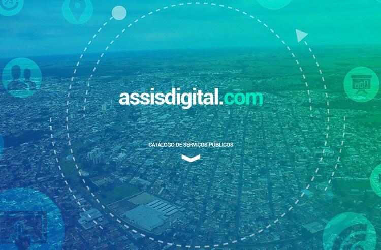 Programa 'Assis Digital' aprimora serviços públicos com ferramentas de Tecnologia da Informação e Comunicação