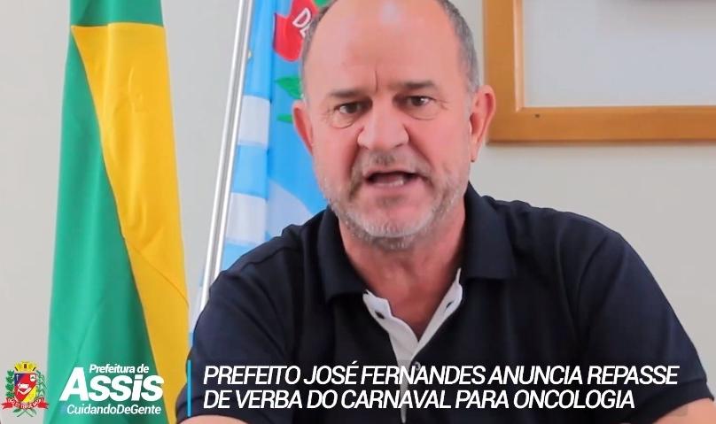 Verba para Carnaval será utilizada para melhorias na Oncologia e para aluguel de casa em Jaú