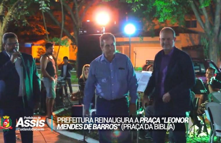 'Praça da Bíblia' é reinaugurada em Assis com a presença de católicos e evangélicos