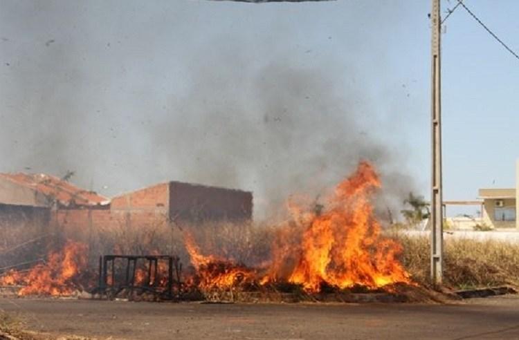 Prefeitura alerta população que queimada causa dano ambiental, prejudica a saúde e gera multa