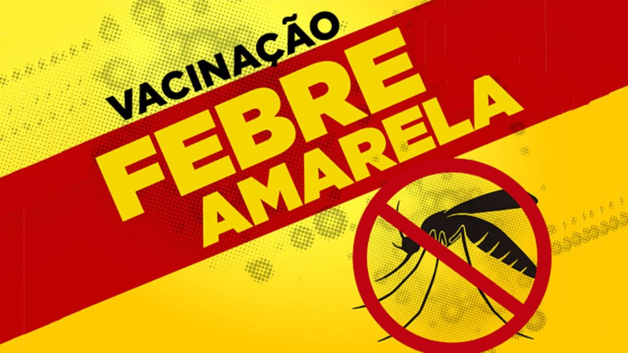 Saúde anuncia intensificação da vacina contra a febre amarela no dia 29 de junho