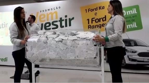 Sicredi Paranapanema promove o sorteio de veículo zero quilometro pela promoção 'Vem Investir e Ganhar'