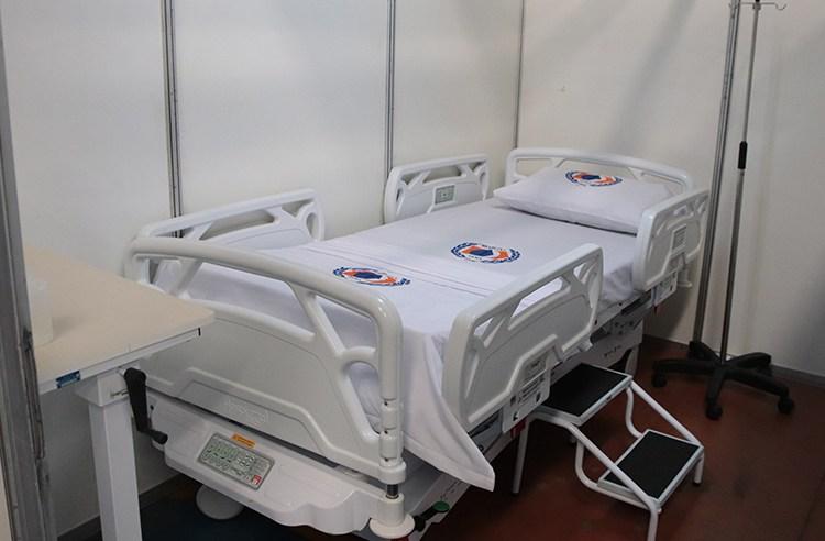 Hospital de Campanha conta com 32 leitos, consultórios médicos, sala de estabilização e semi UTI