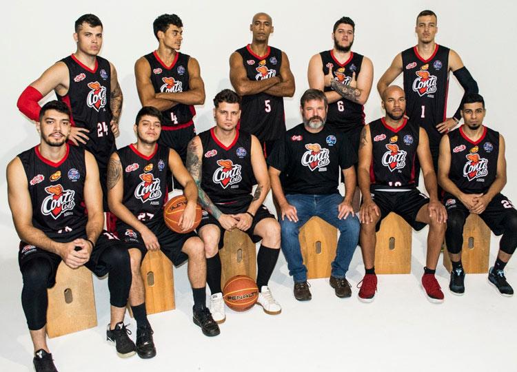 Equipe Conti Cola Assis Basket faz Campanha Solidária