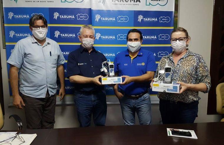 Prefeitura de Tarumã recebe oxímetros que vão ajudar no combate à covid-19