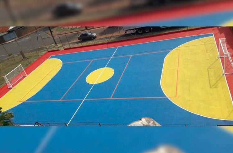 Pista de skate e quadra do Parque das Acácias são revitalizados